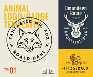 Animal Logo Templates Vol1 – sponsored