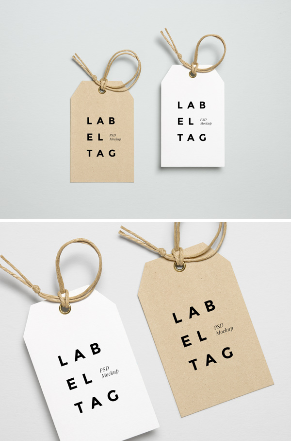 Price tags labels design