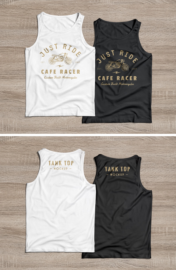 tank top psd mockup graphicburger. Black Bedroom Furniture Sets. Home Design Ideas
