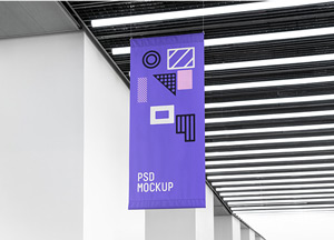 Flag Mockup Psd Graphicburger