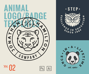 Animal Logo Templates Vol2 – sponsored