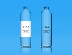 Water Bottle Mockup Graphicburger